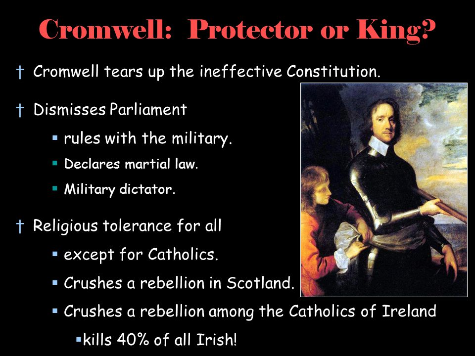 Cromwell: Protector or King