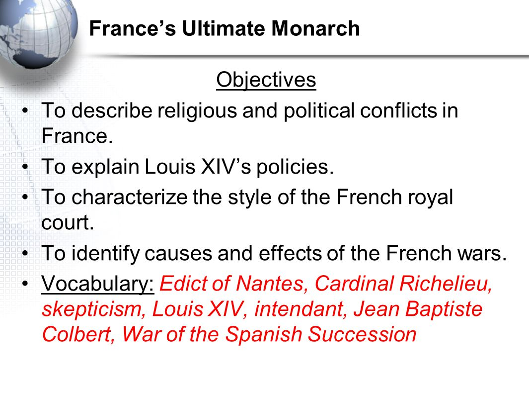 France's Ultimate Monarch