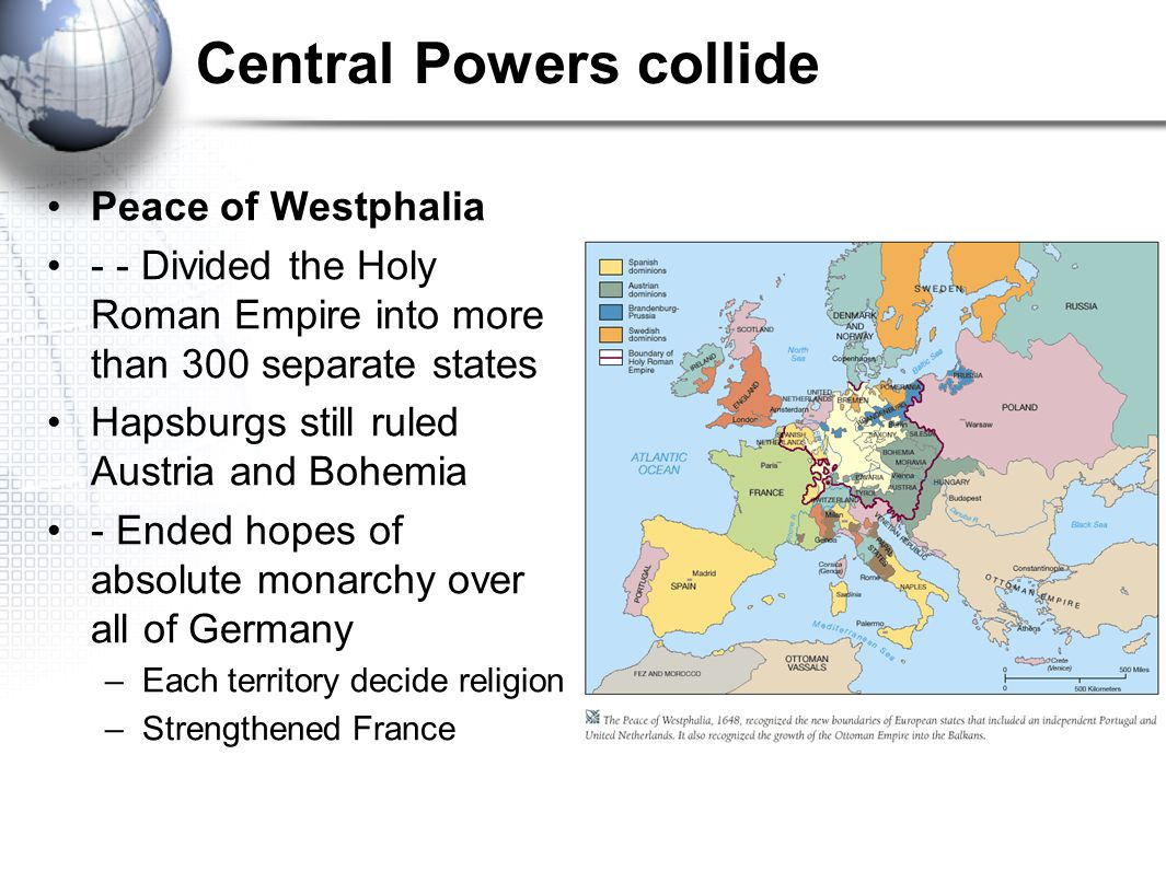 Central Powers collide