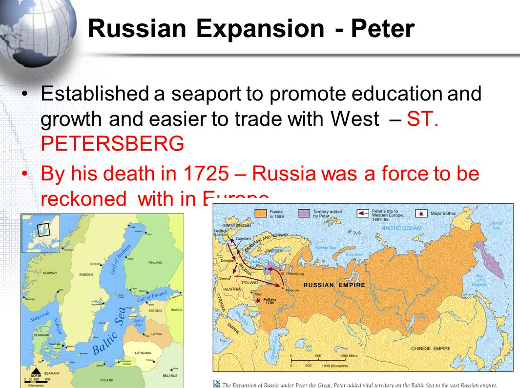 Russian Expansion - Peter