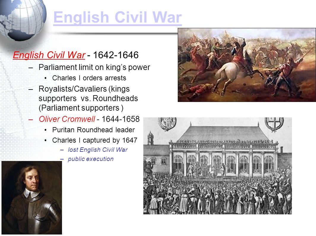 English Civil War English Civil War - 1642-1646