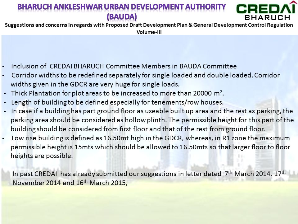 BHARUCH ANKLESHWAR URBAN DEVELOPMENT AUTHORITY (BAUDA)