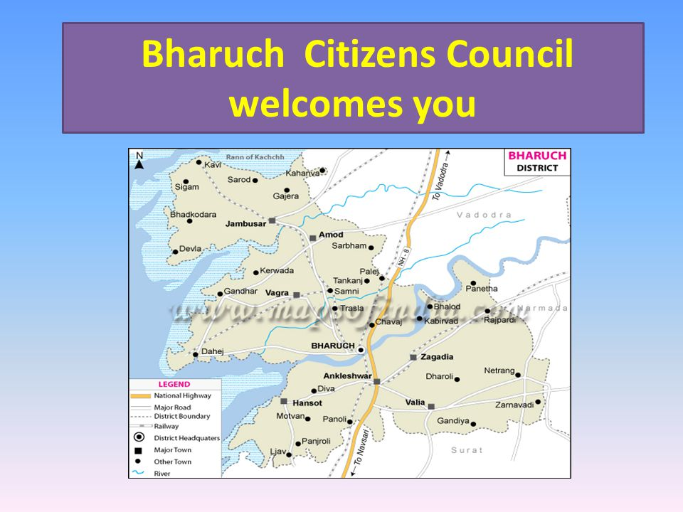 Bharuch Citizens Council welcomes you