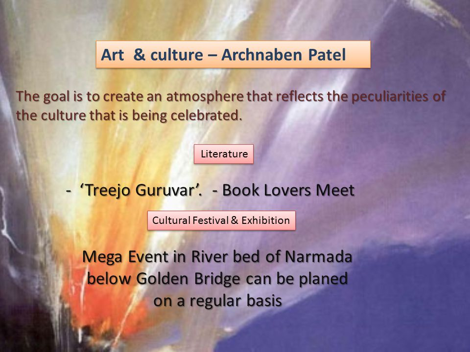 Art & culture – Archnaben Patel