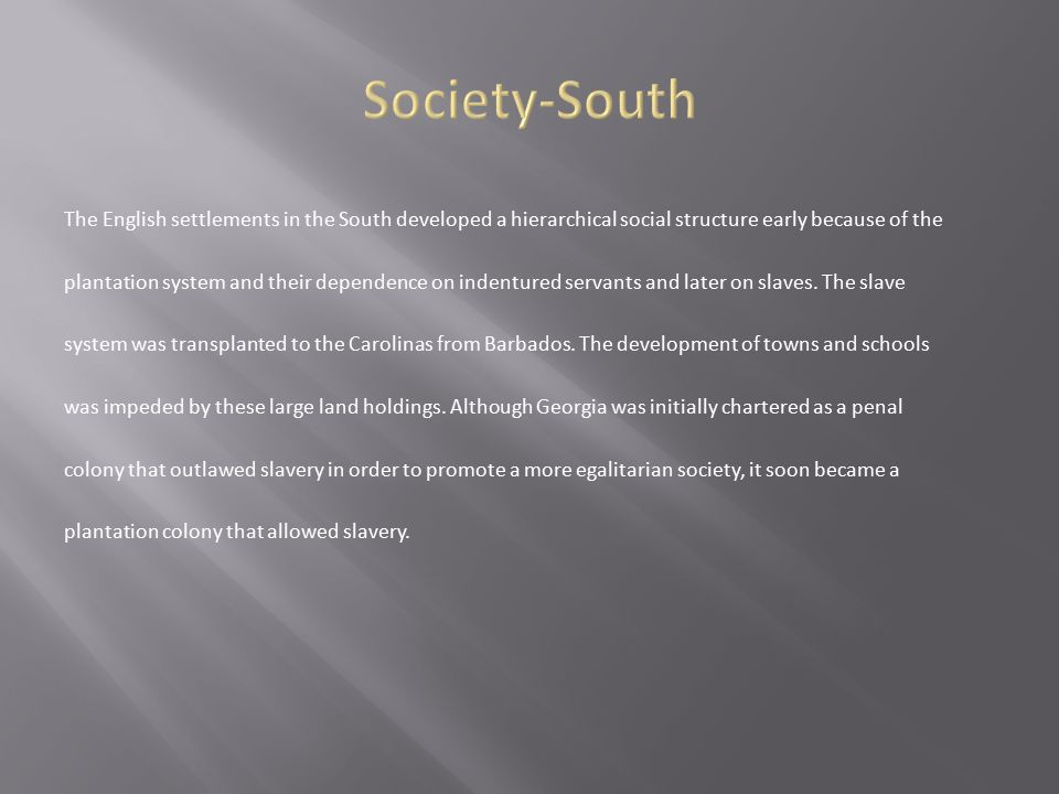 Society-South