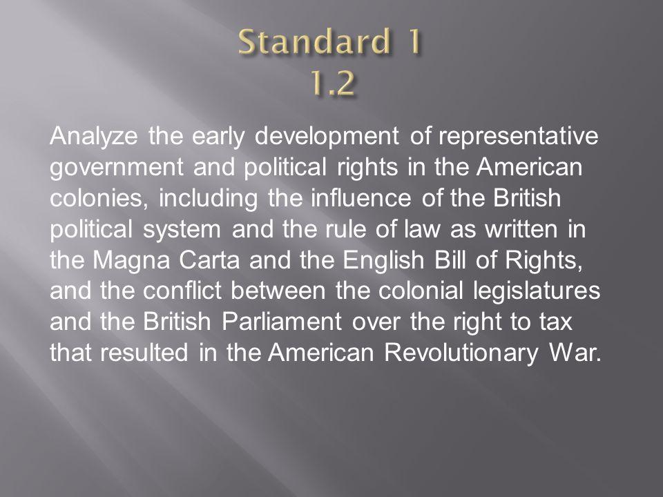 Standard 1 1.2