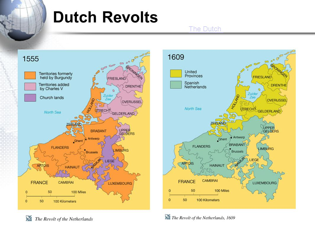 Dutch Revolts The Dutch