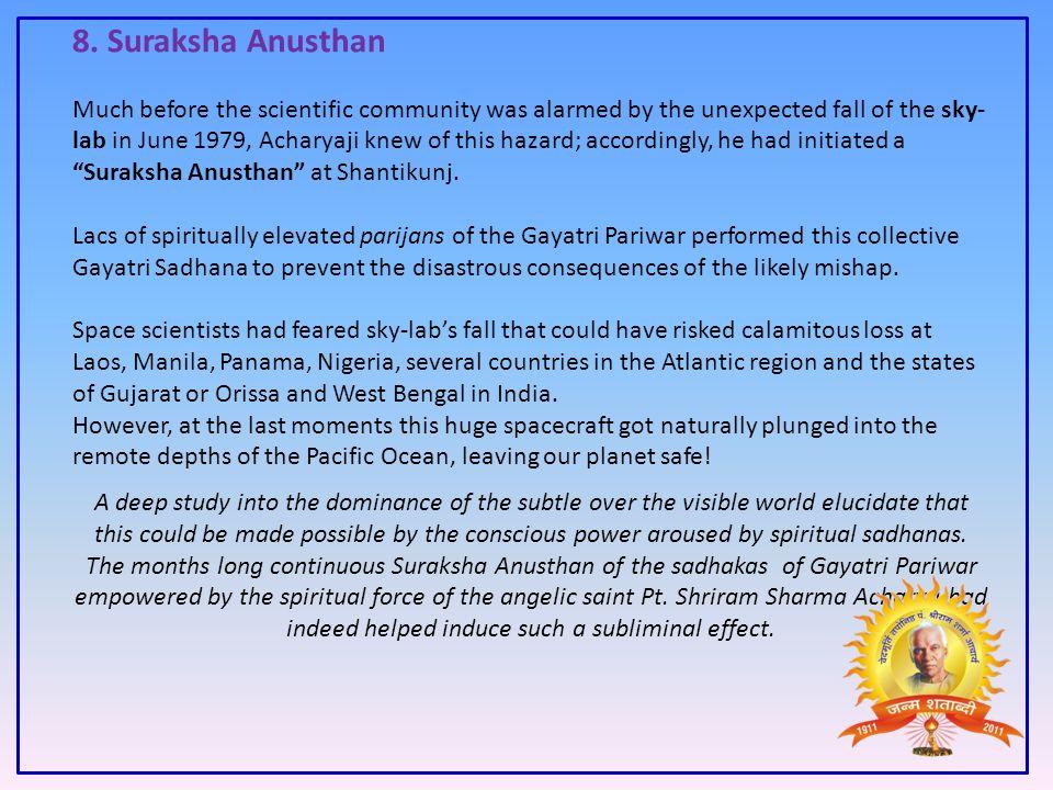 8. Suraksha Anusthan