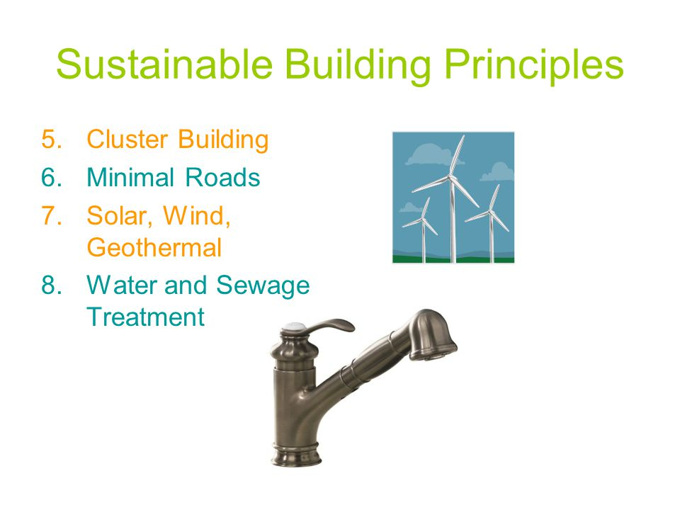 Sustainable Building Principles