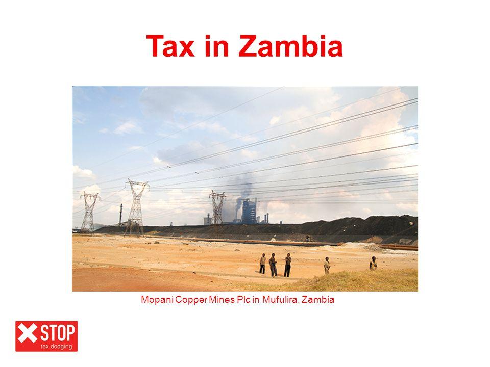 Mopani Copper Mines Plc in Mufulira, Zambia