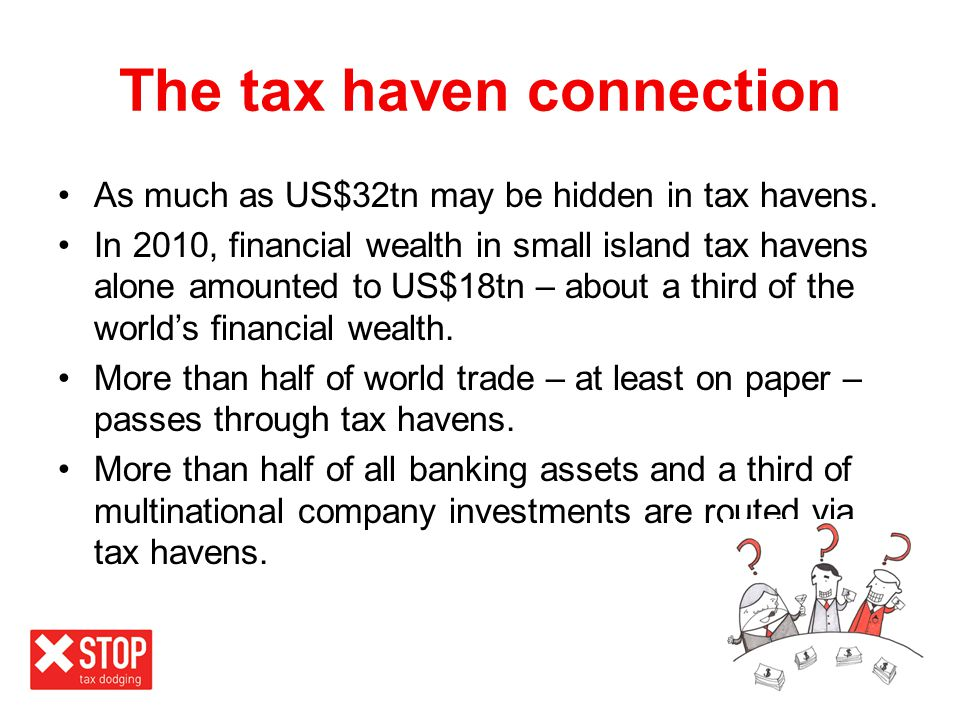 The tax haven connection