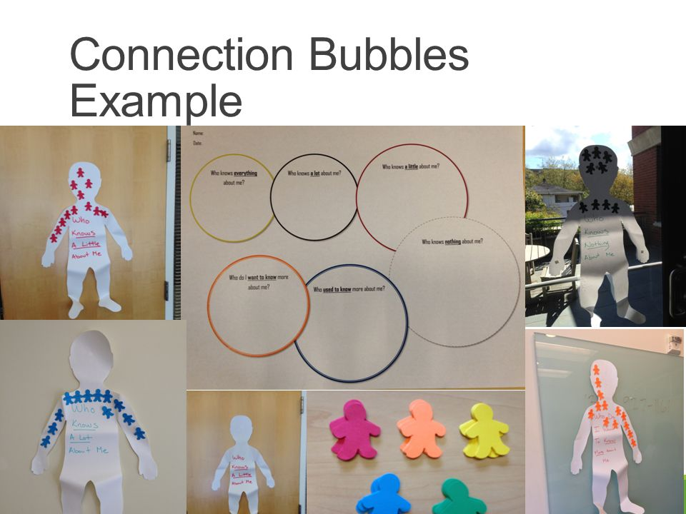 Connection Bubbles Example