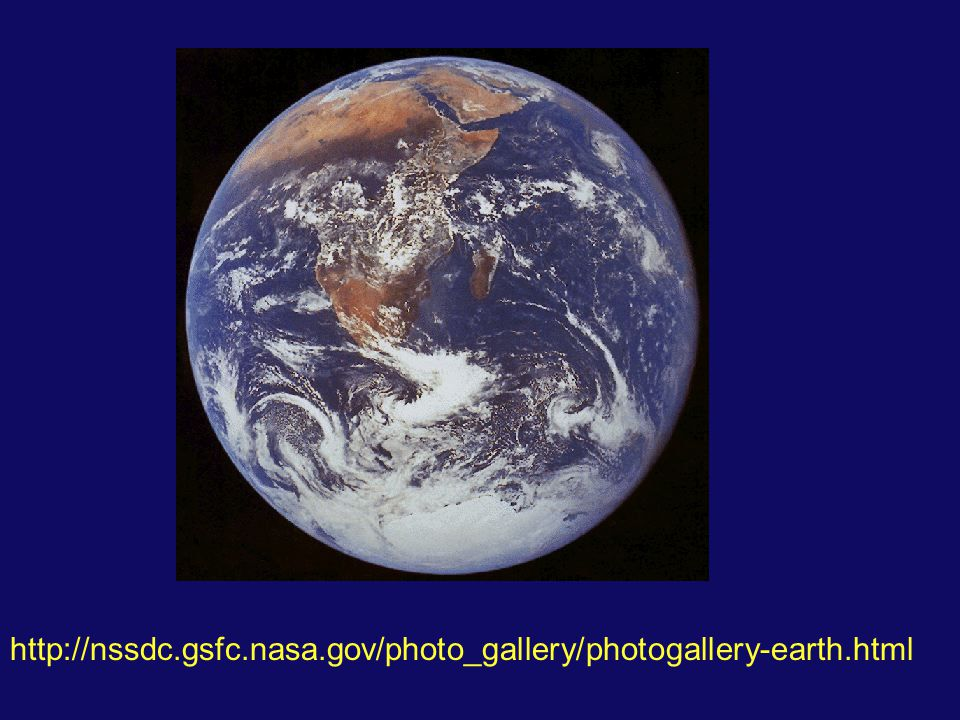 http://nssdc.gsfc.nasa.gov/photo_gallery/photogallery-earth.html
