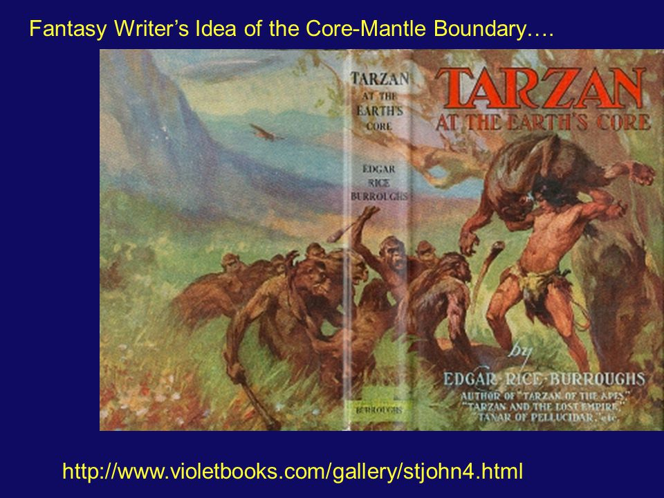 Fantasy Writer's Idea of the Core-Mantle Boundary….
