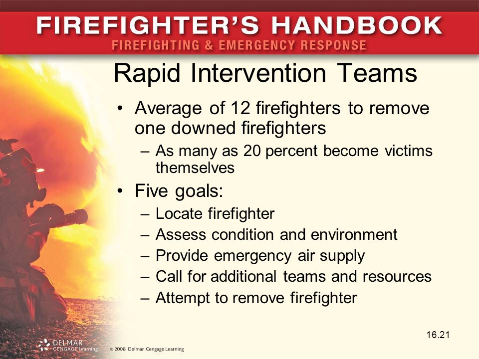 Rapid Intervention Teams
