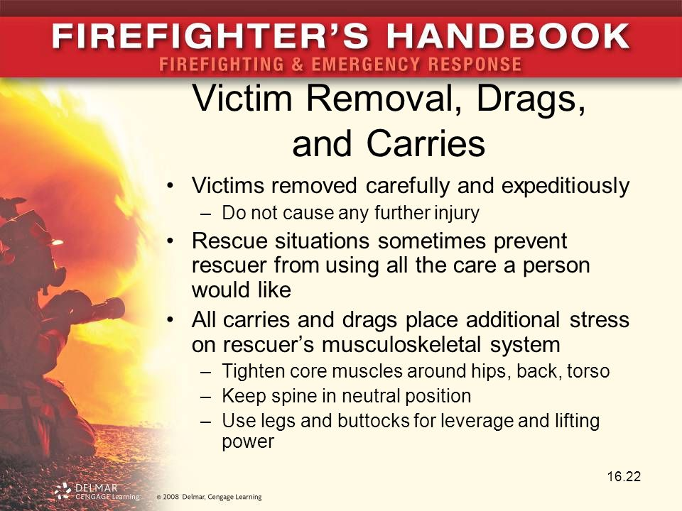 Victim Removal, Drags, and Carries