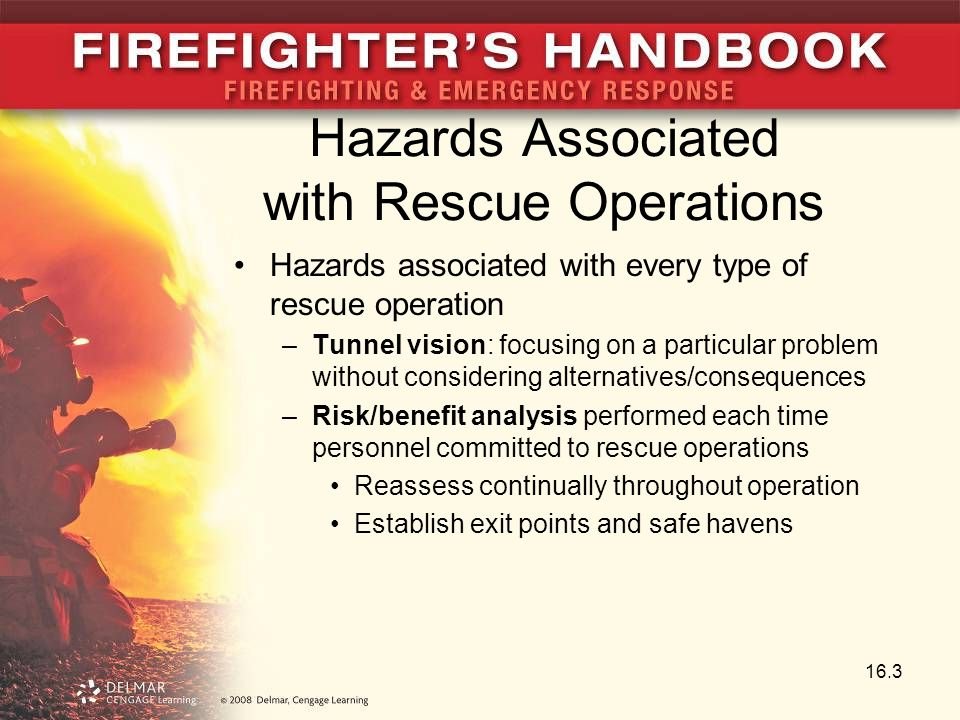 Hazards Associated with Rescue Operations