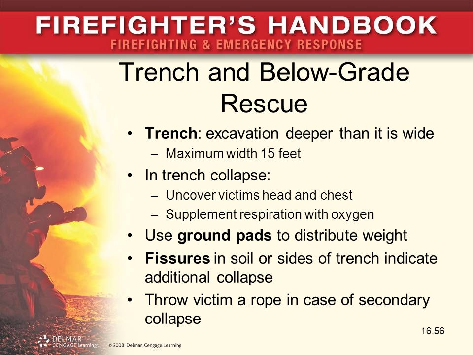 Trench and Below-Grade Rescue