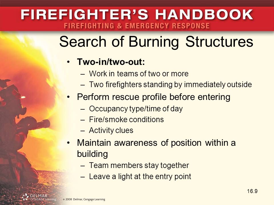 Search of Burning Structures