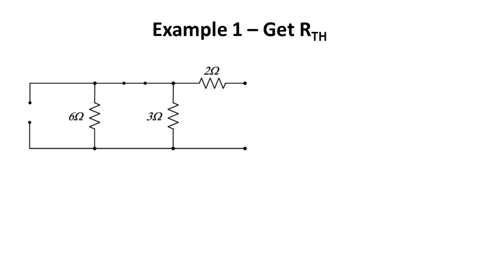 Example 1 – Get RTH