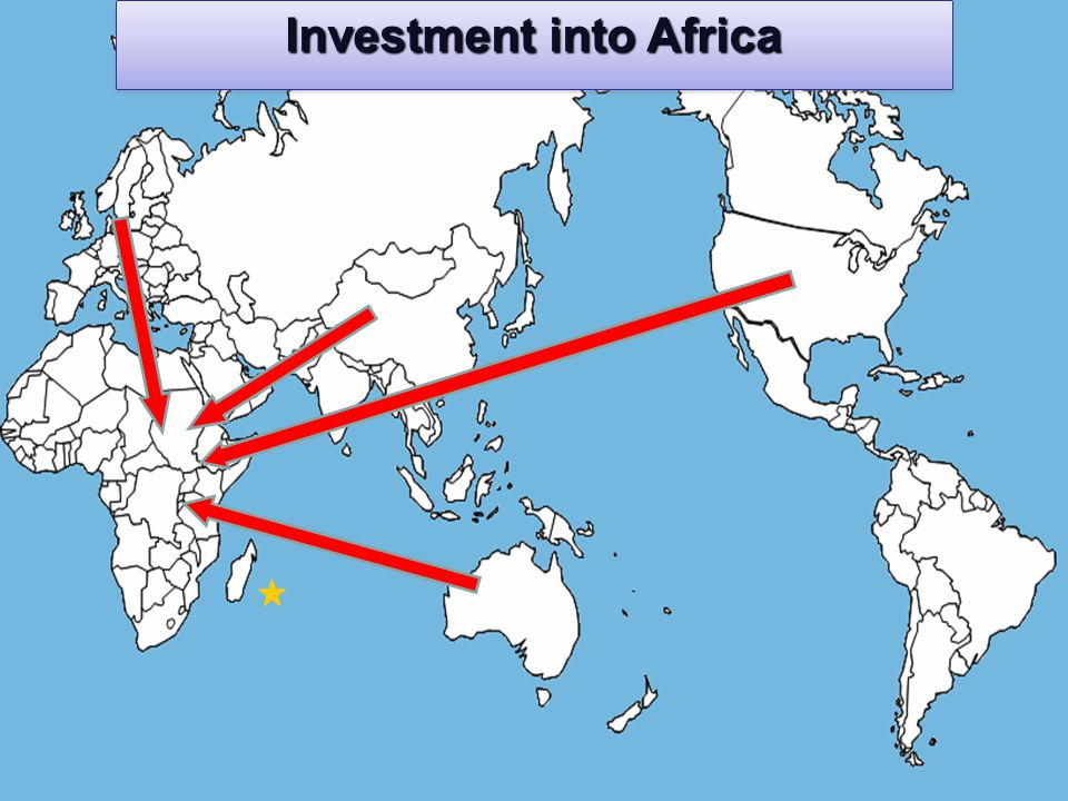 Investment into Africa
