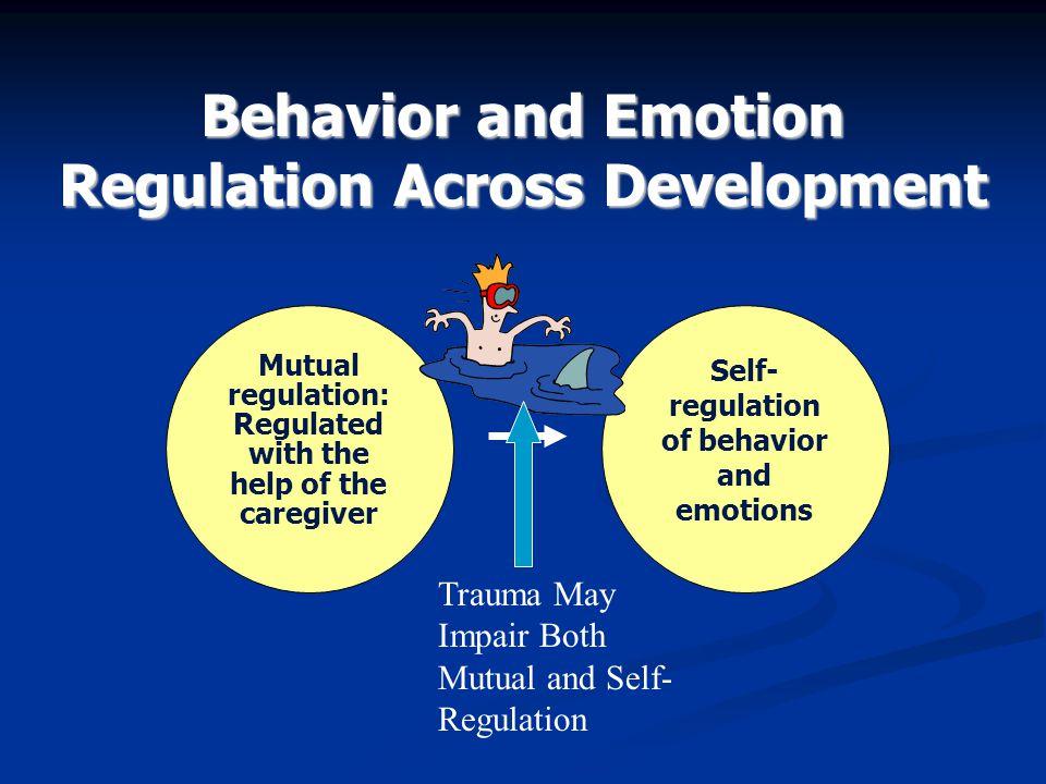 Behavior and Emotion Regulation Across Development
