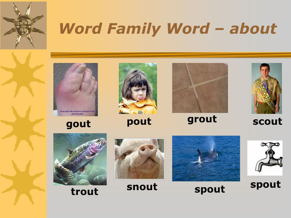 Word Family Word – about