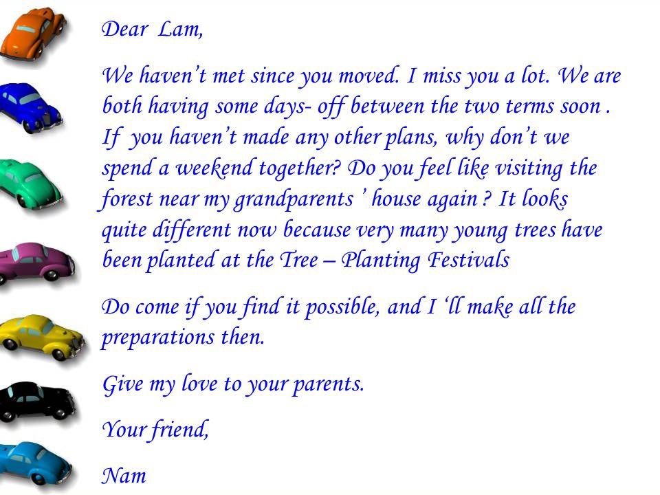 Dear Lam,