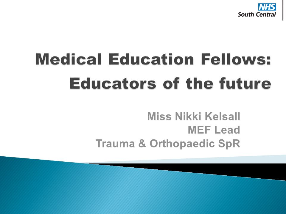 Medical Education Fellows: Educators of the future
