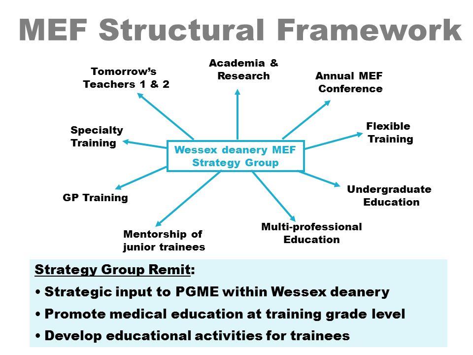 MEF Structural Framework
