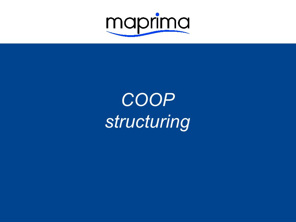 COOP structuring