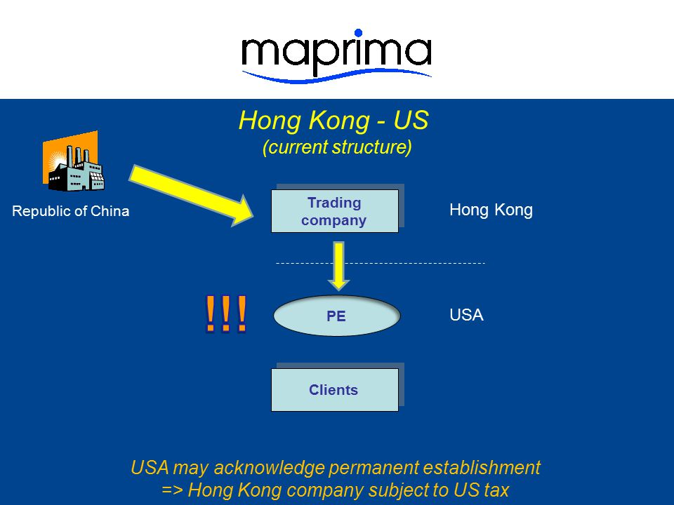 !!! Hong Kong - US (current structure)