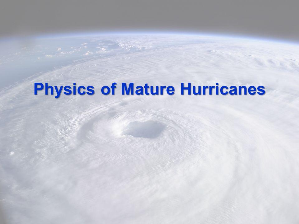 Physics of Mature Hurricanes