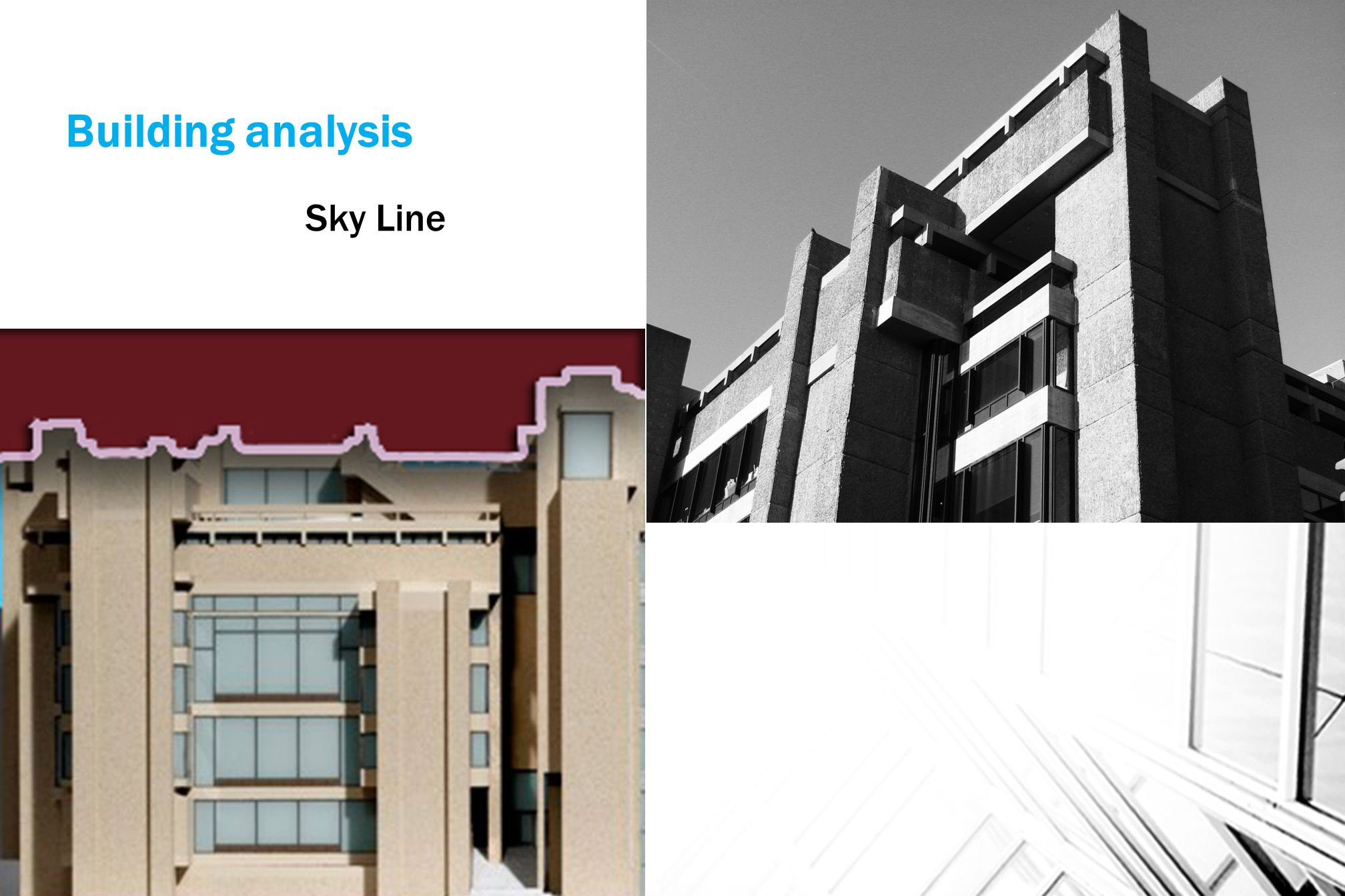 Building analysis Sky Line