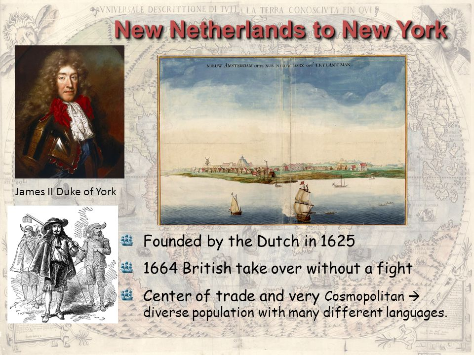 New Netherlands to New York