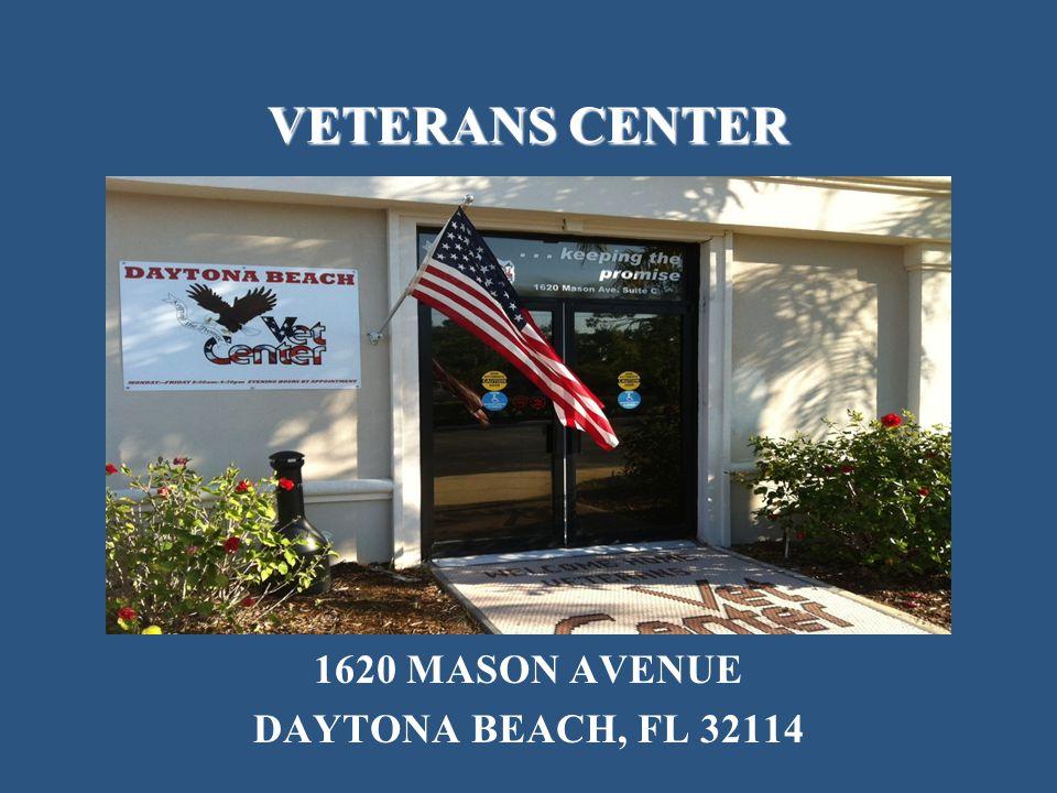 VETERANS CENTER 1620 MASON AVENUE DAYTONA BEACH, FL 32114