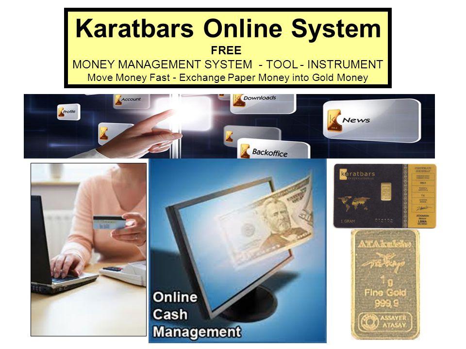 Karatbars Online System