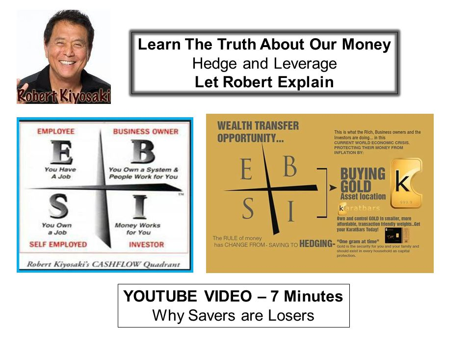 Learn The Truth About Our Money YOUTUBE VIDEO – 7 Minutes