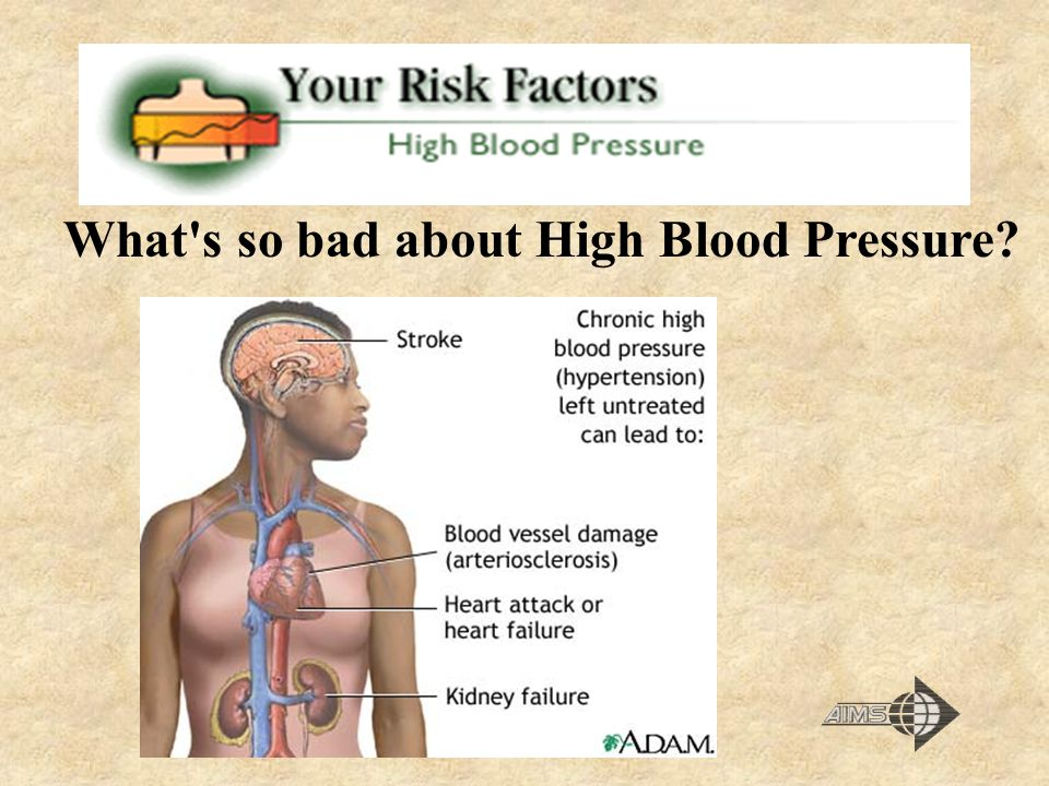 What s so bad about High Blood Pressure