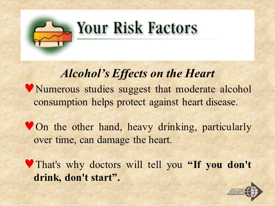 Alcohol's Effects on the Heart