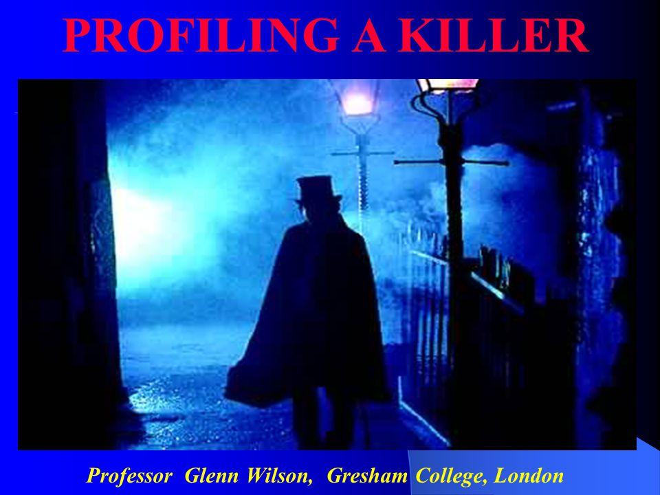 Professor Glenn Wilson, Gresham College, London