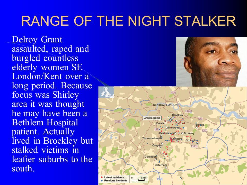 RANGE OF THE NIGHT STALKER