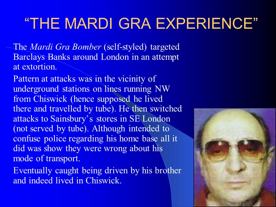 THE MARDI GRA EXPERIENCE