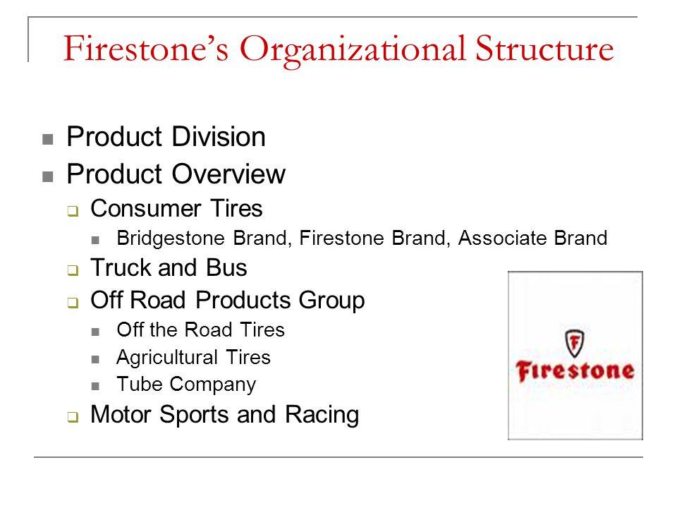 Firestone's Organizational Structure