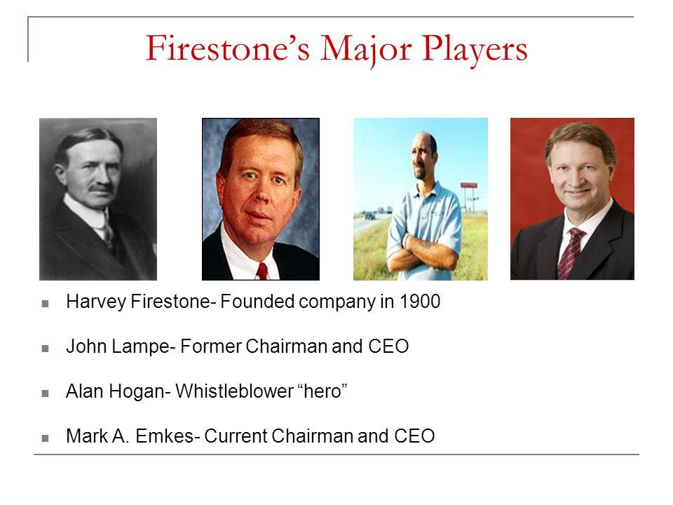 Firestone's Major Players