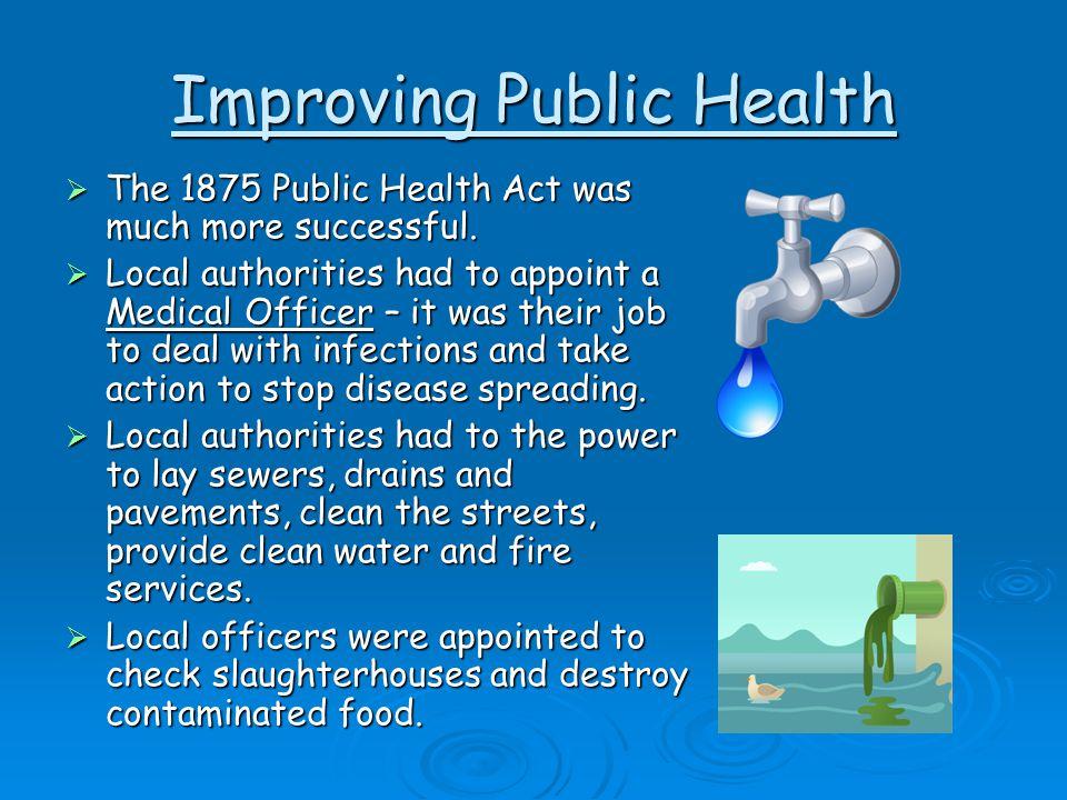 Improving Public Health