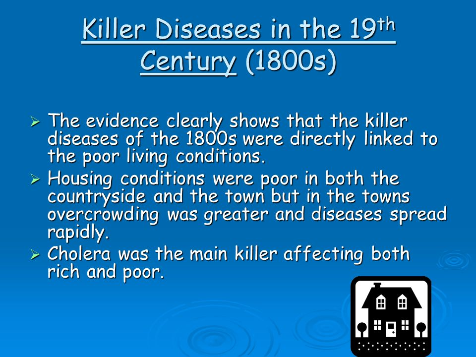 Killer Diseases in the 19th Century (1800s)