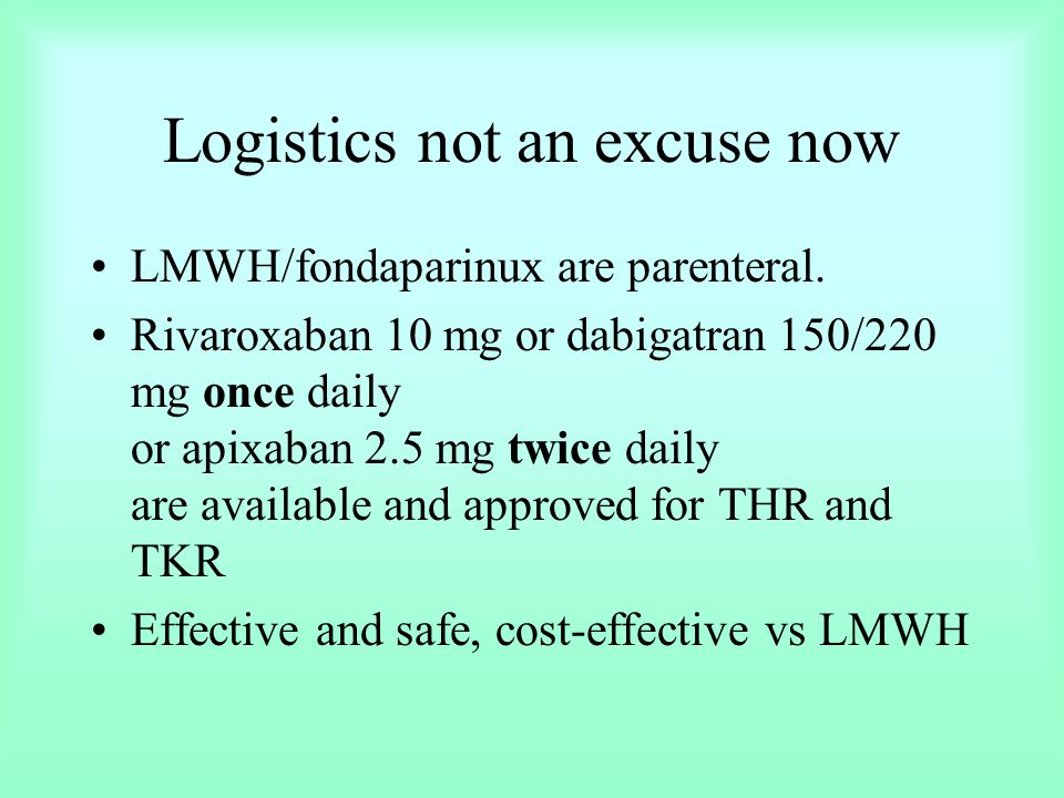 Logistics not an excuse now