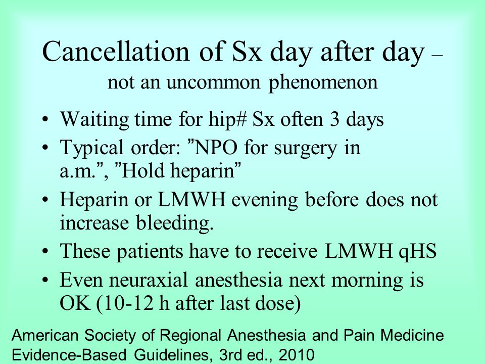 Cancellation of Sx day after day – not an uncommon phenomenon