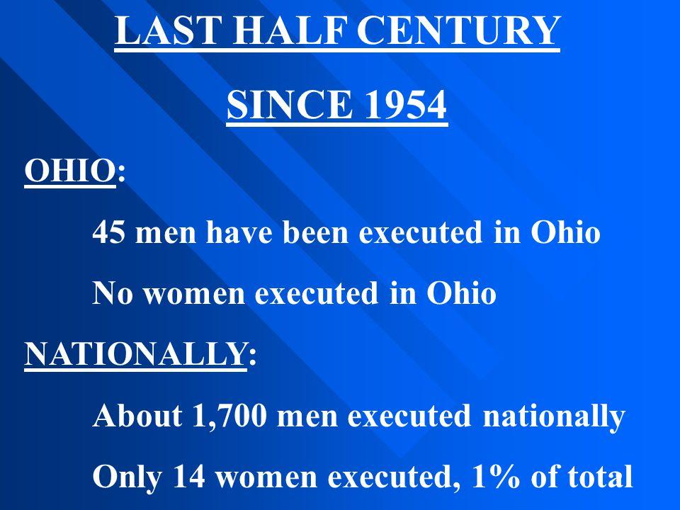 LAST HALF CENTURY SINCE 1954